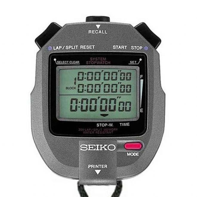 Seiko S143 Stopwatch (with printer port) - Saturn Stopwatches